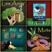 visuel spectacle Animmots - lecture